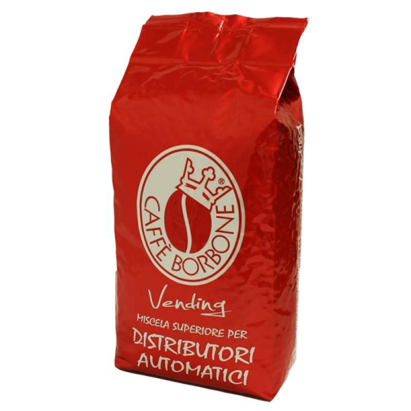 Caffè in grani BORBONE miscela ROSSA confezione da 1kg