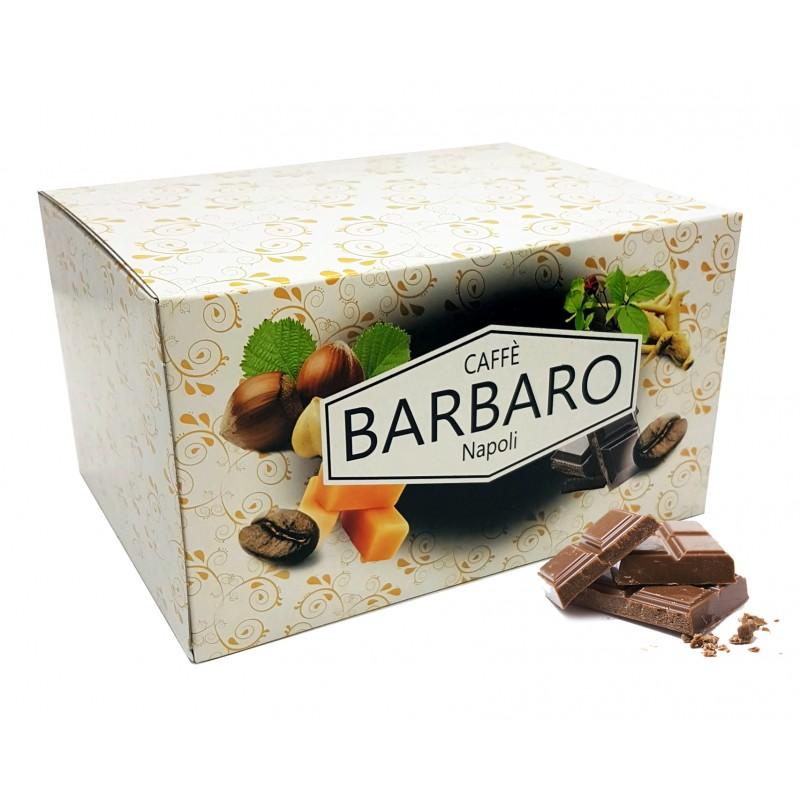 20 cialde in carta BARBARO caffè aromatizzato CIOCCOLATO ESE 44