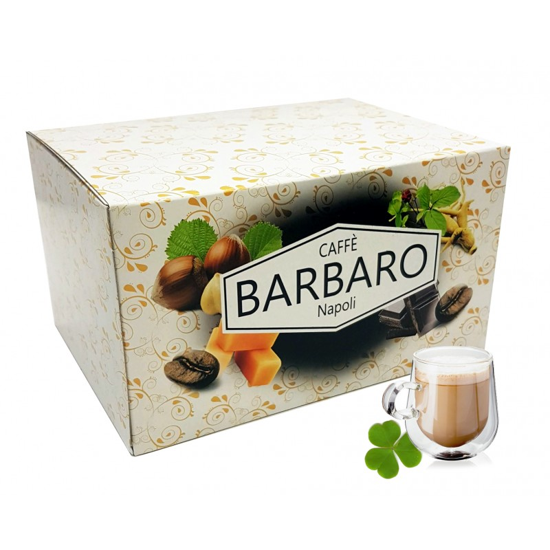 20 cialde in carta BARBARO caffè aromatizzato IRISH CREAM ESE 44