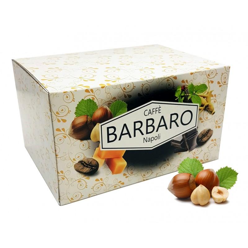 20 cialde in carta BARBARO caffè aromatizzato NOCCIOLA ESE 44