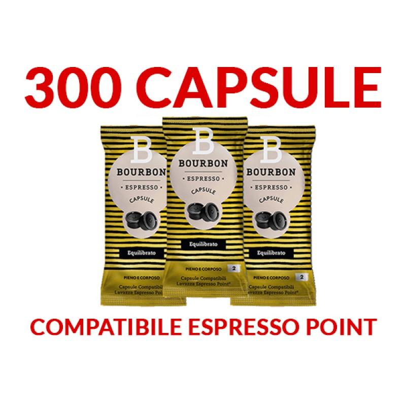 300 Capsule Bourbon EQUILIBRATO Espresso Point SPEDIZIONE INCLUSA