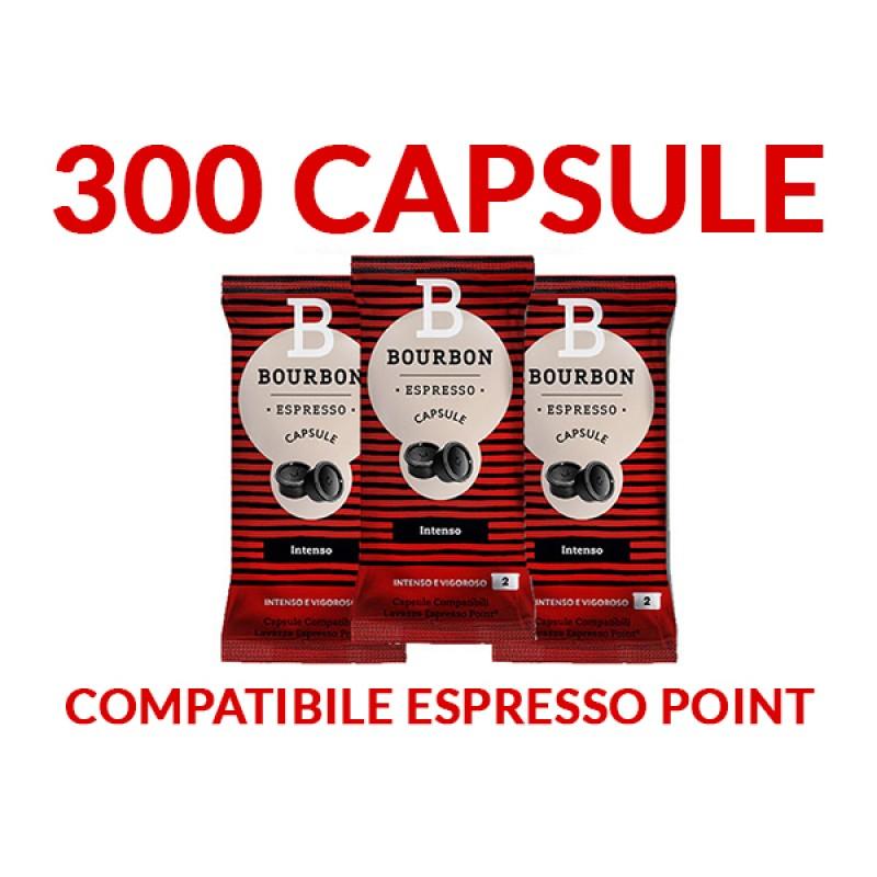 300 Capsule Bourbon INTENSO Espresso Point SPEDIZIONE INCLUSA