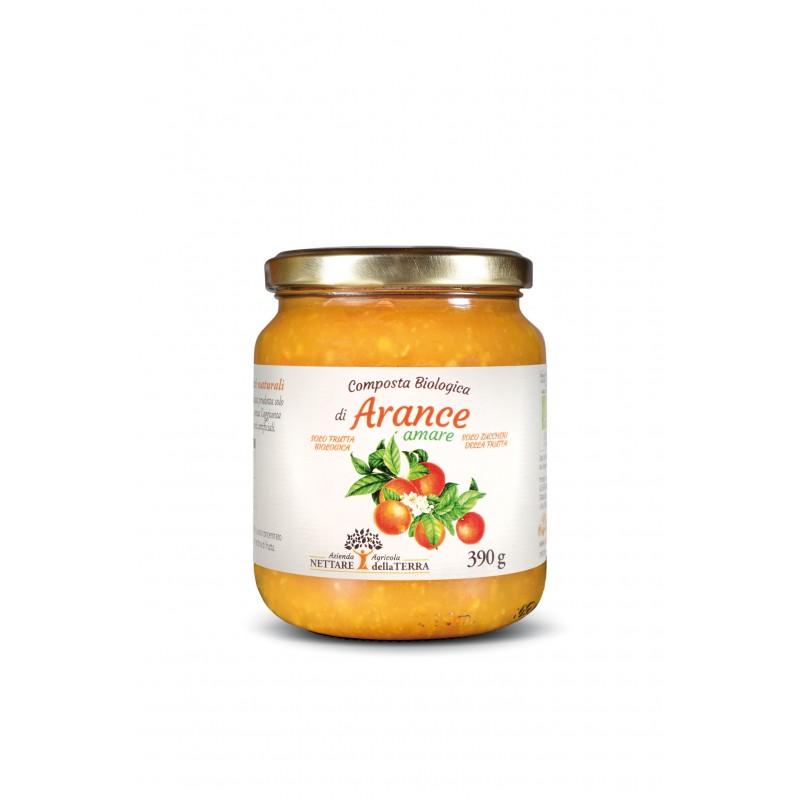 Composta Bio Arancia 390 gr Nettare Della Terra