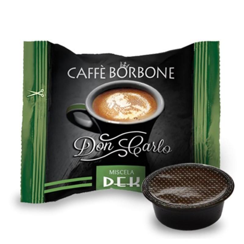100 capsule Borbone Don Carlo Dek compatibili A Modo Mio