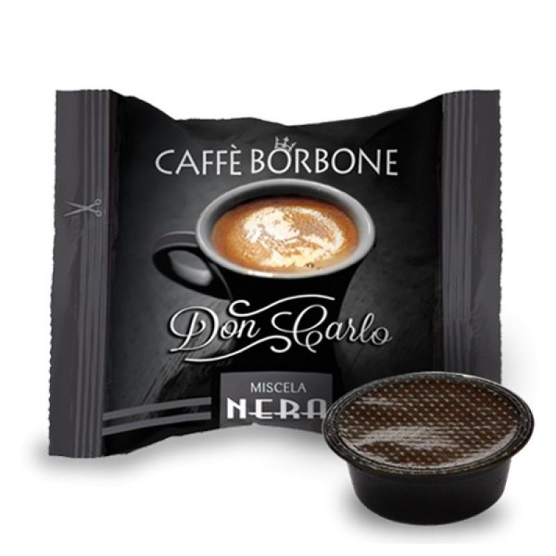 100 capsule Borbone Don Carlo Nera compatibili A Modo Mio
