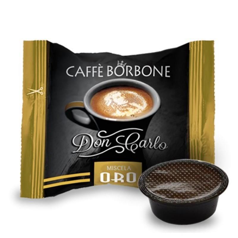 100 capsule Borbone Don Carlo Oro compatibili A Modo Mio