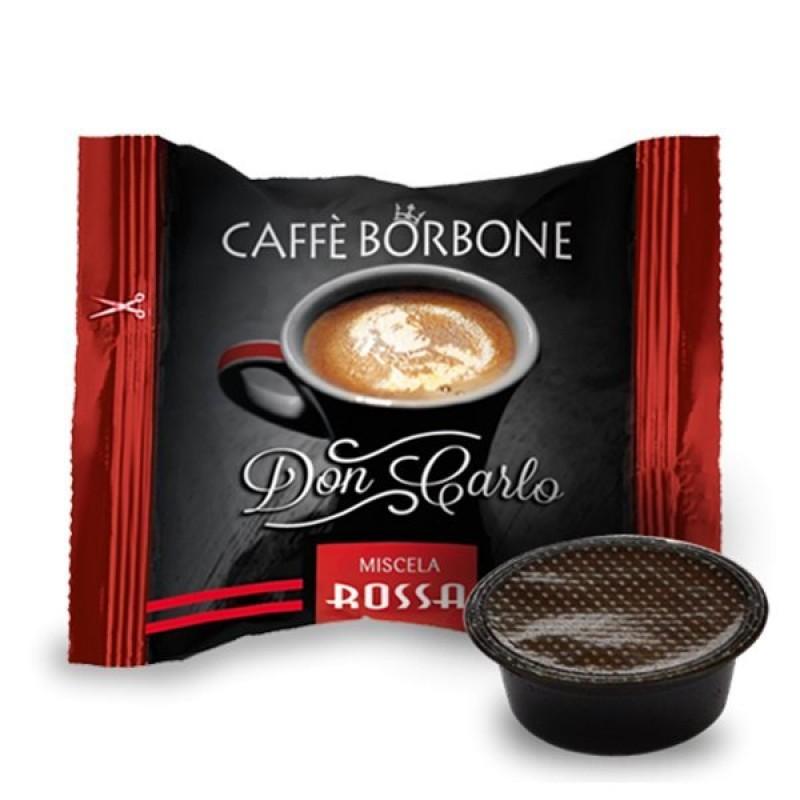 100 capsule Borbone Don Carlo Rossa compatibili A Modo Mio