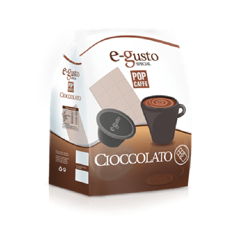 16 capsule Pop Caffè E-GUSTO CIOCCOLATO compatibile DOLCE GUSTO