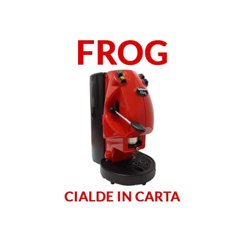 Macchina Frog per cialde ESE 44mm - Colore Rosso