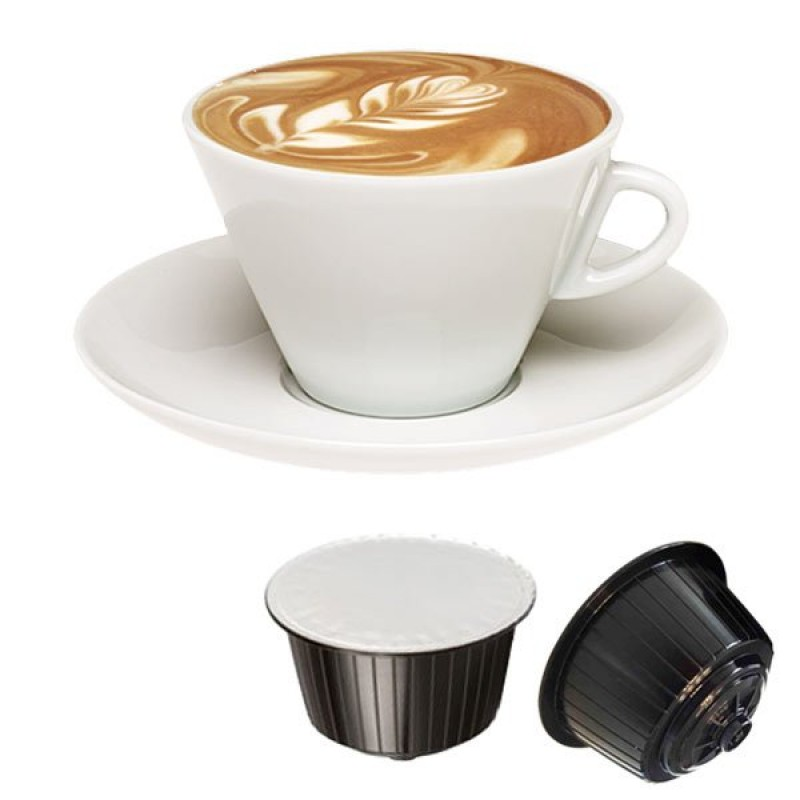 Cappuccino Gattopardo 16 capsule Compatibili Dolcegusto