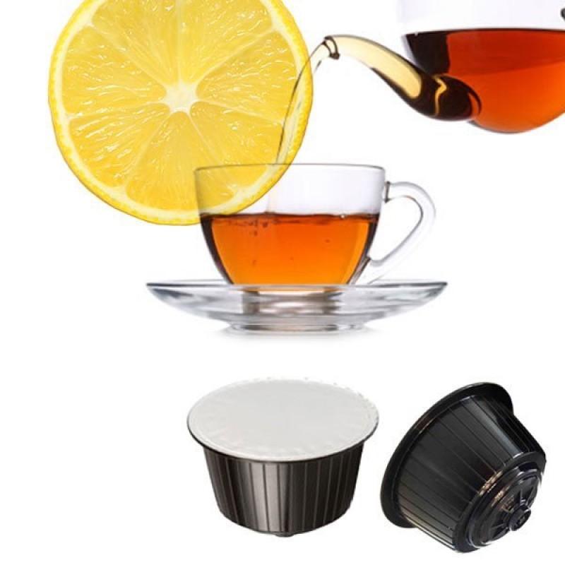 16 capsule Gattopardo Te al Limone Compatibile Dolcegusto