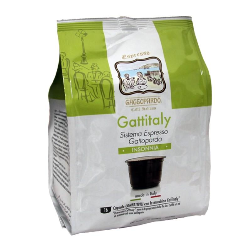 16 capsule Gattopardo INSONNIA Gattitaly To.Da compatibili Caffitaly