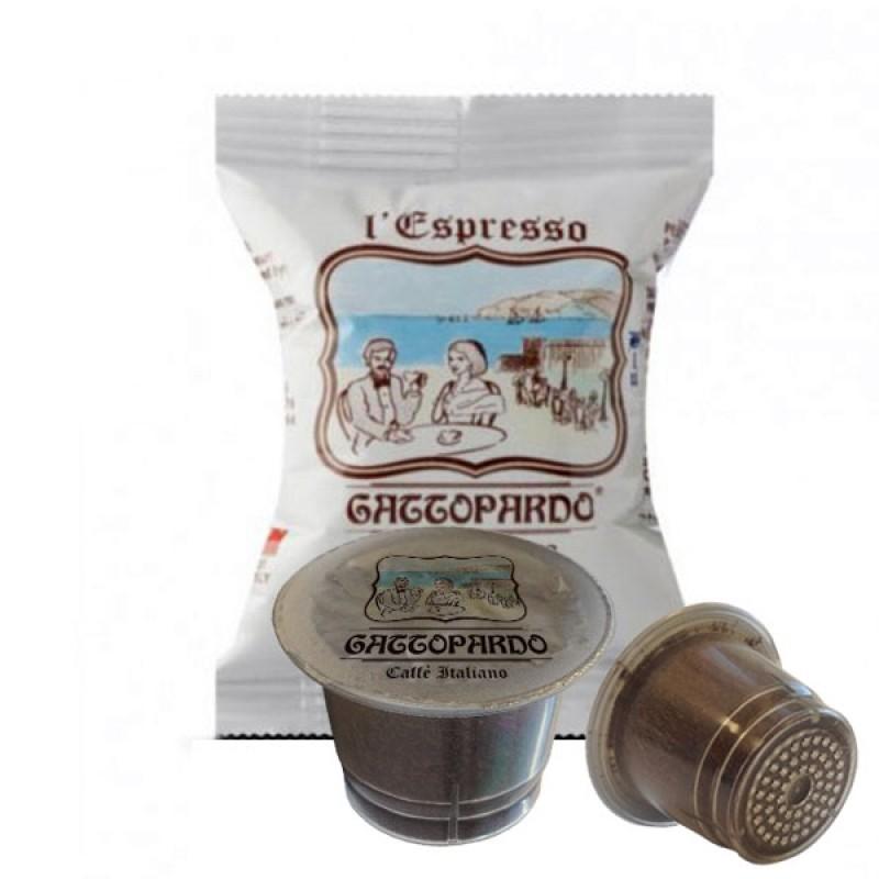 100 capsule Gattopardo Blu compatibili nespresso