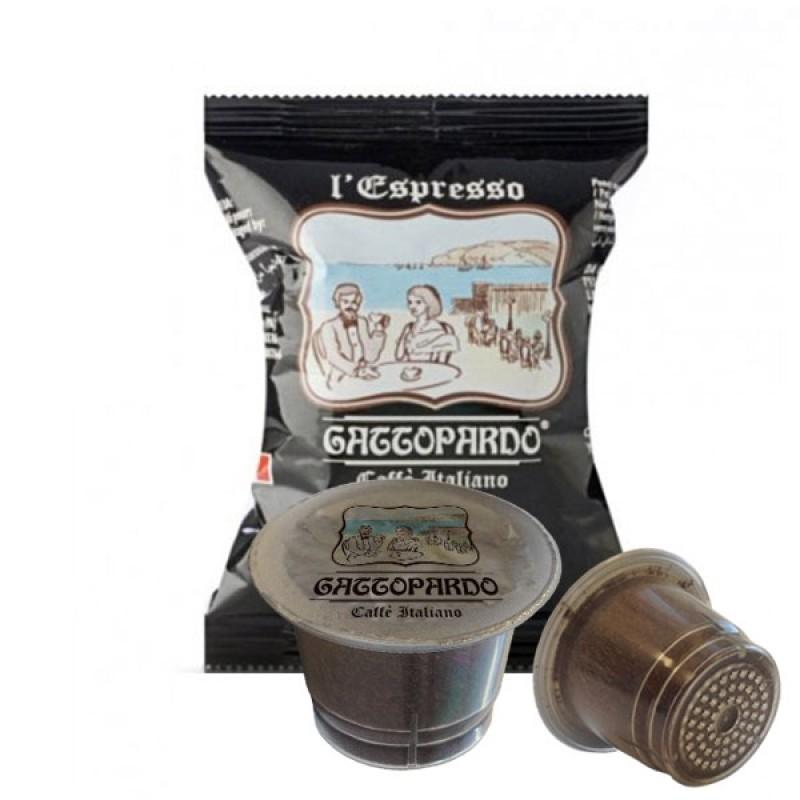 100 capsule Gattopardo Dakar compatibili nespresso