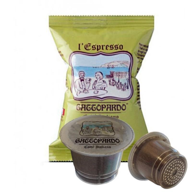 100 capsule caffè Gattopardo Insonnia compatibili Nespresso
