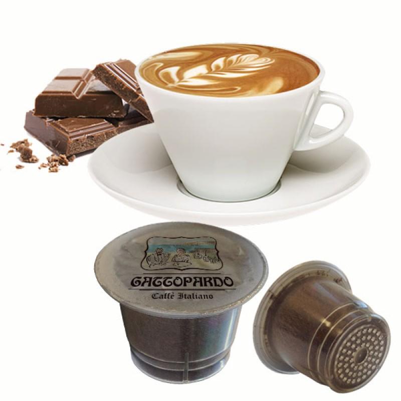 10 capsule Gattopardo Capciock compatibili Nespresso