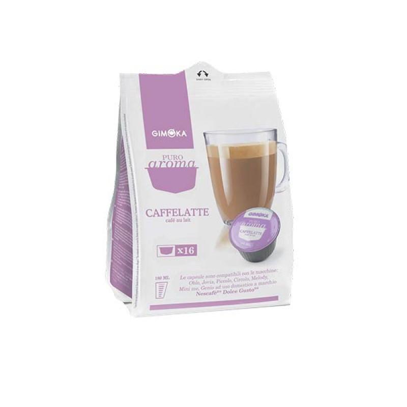 16 Capsule CAFFELATTE GIMOKA compatibili NesCafè