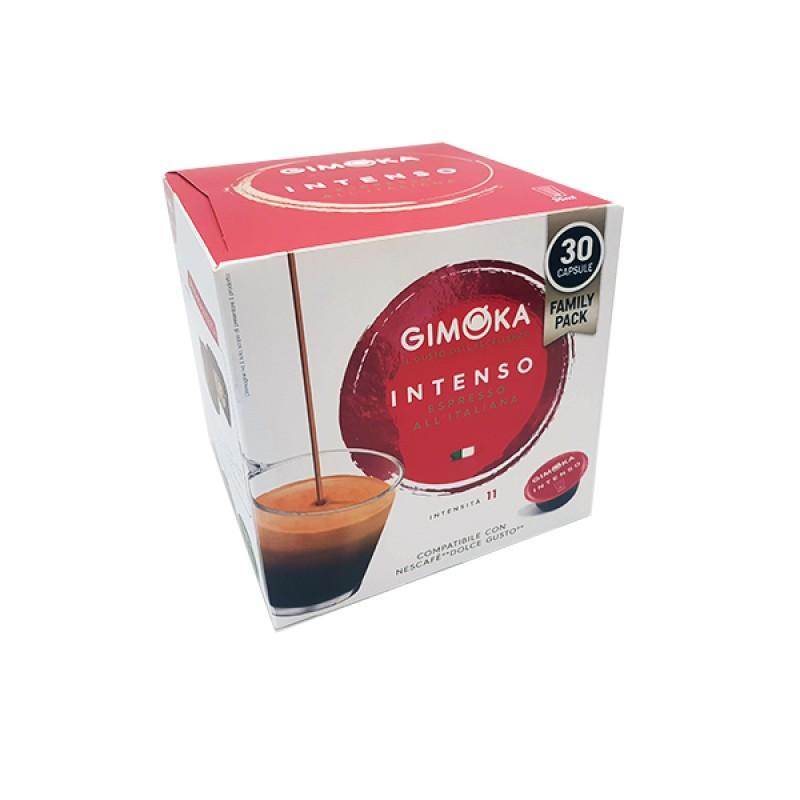 30 Capsule intenso gimoka puro aroma compatibili Nescafè Dolcegusto