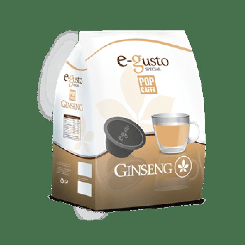 16 capsule Pop Caffè E-GUSTO GINSENG compatibile DOLCE GUSTO