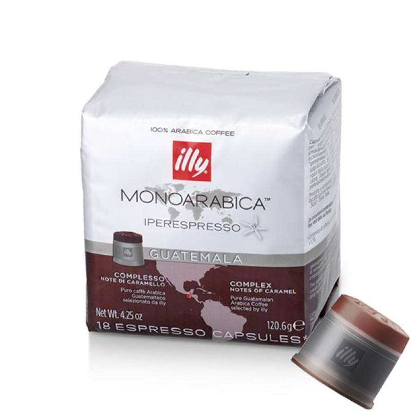 Caffe'in capsule Illy Iperespresso Guatemala 18 capsule