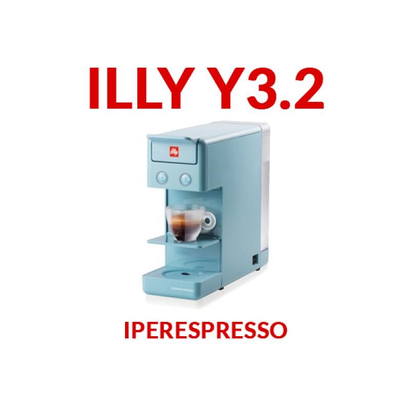 Macchina per caffè Illy Iperespresso Y3 Azzurra + 14 CAPSULE GRATIS