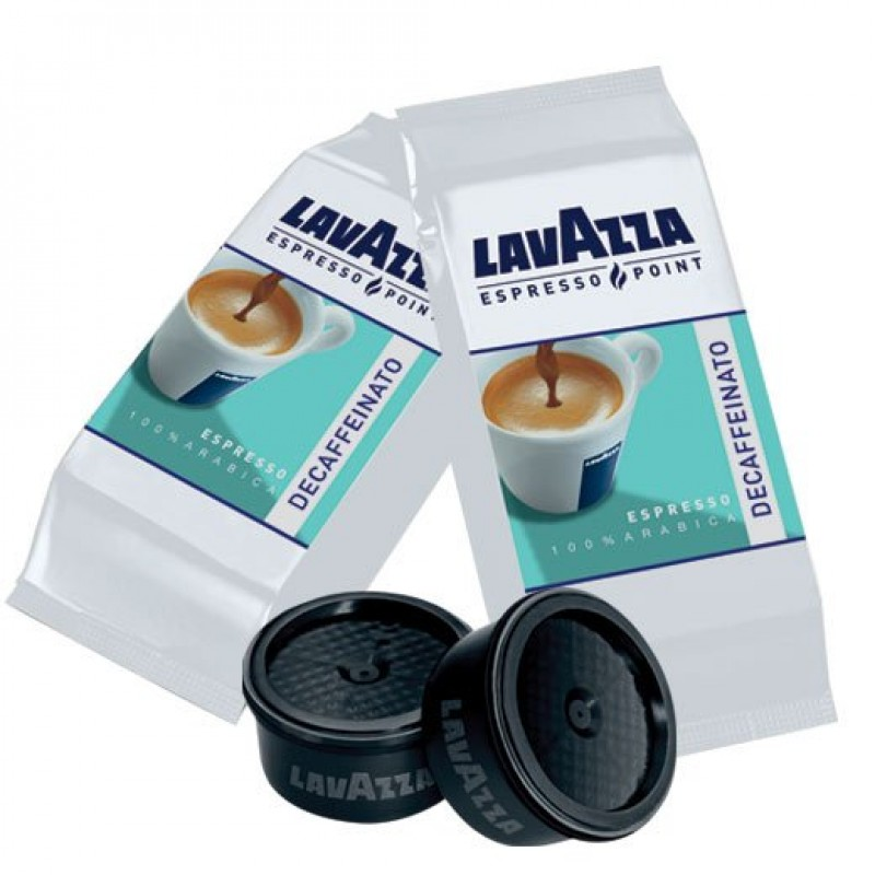 50 capsule LavAzza Espresso Point DECAFFEINATO 100% Arabica
