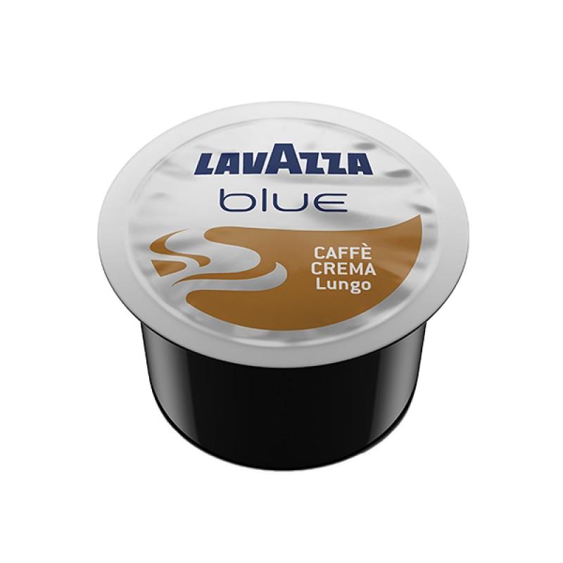 100 capsule LavAzza Blue ESPRESSO CREMA LUNGO 100% ARABICA