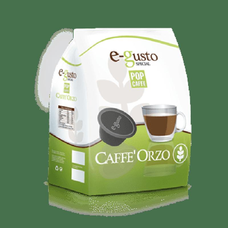 16 capsule Pop Caffè E-GUSTO ORZO compatibile DOLCE GUSTO