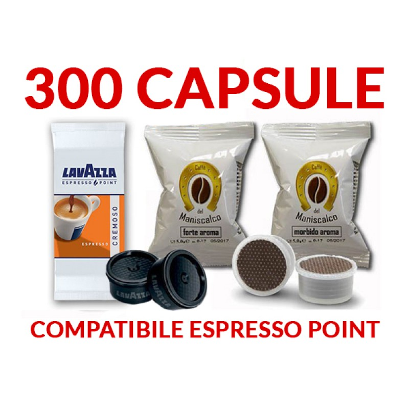 300 cápsulas café Espresso point