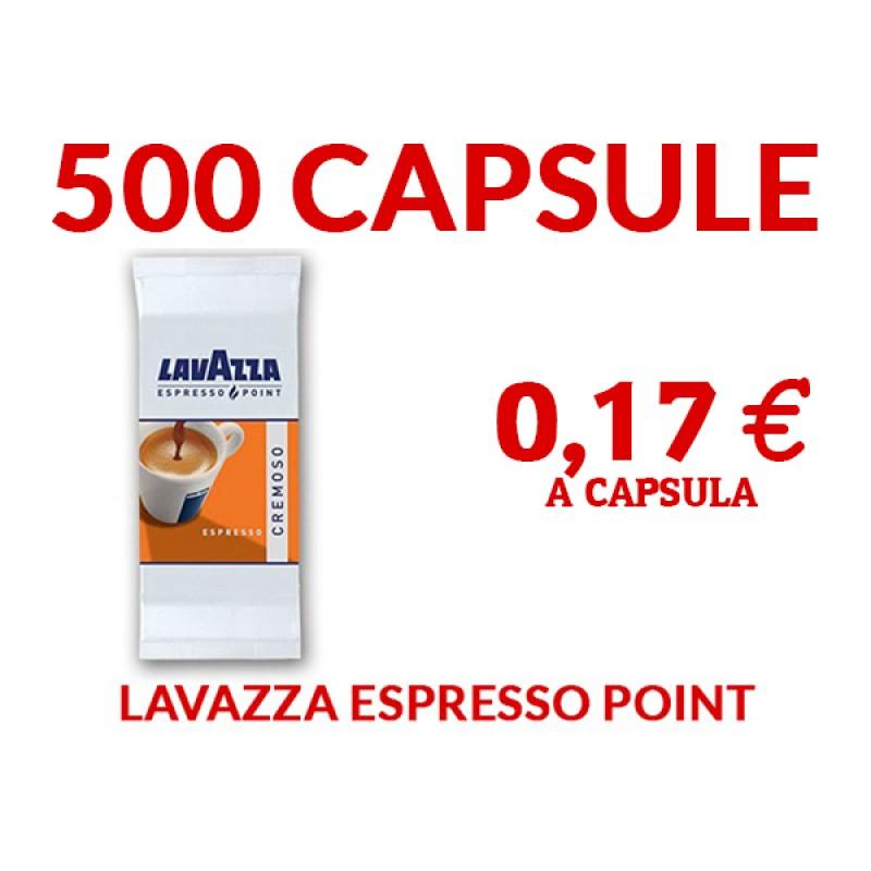 500 capsule Lavazza Cremoso Espresso Point