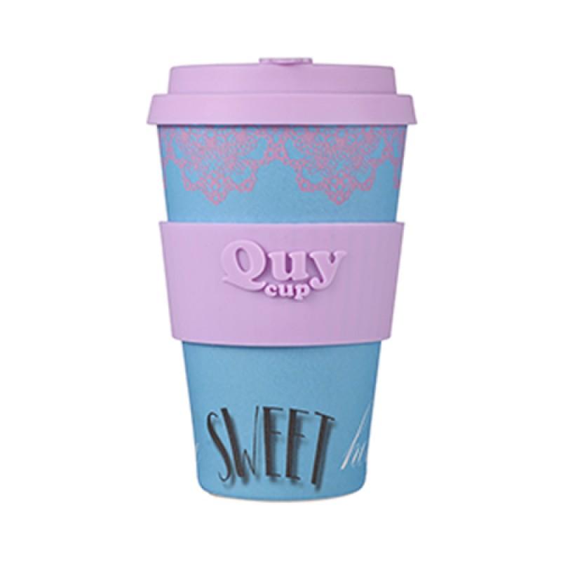 Tazza Mug in Bambu - SWEET ROSE