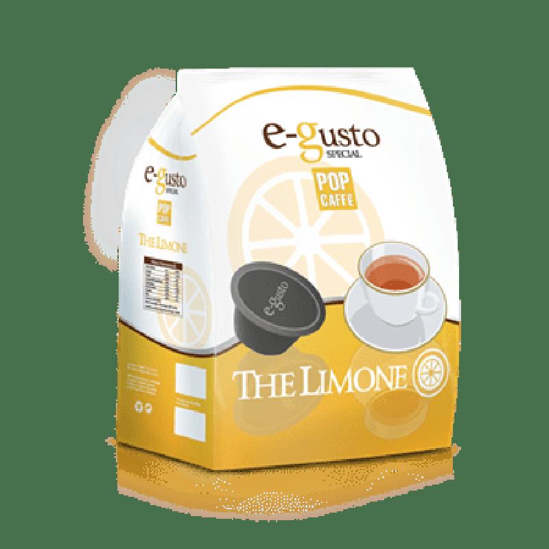 16 capsule Pop Caffè E-GUSTO THE LIMONE compatibile DOLCE GUSTO