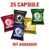 Assaggio 25 capsule miste Borbone compatibile Espresso Point