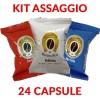 24 cialde miste caffè Maniscalco compatibile Lavazza Espresso Point KIT ASSAGGIO