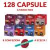 8 confezioni da 16 capsule LavAzza A Modo Mio miste