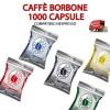 1000 Capsule caffè Borbone Respresso compatibili nespresso