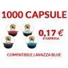 1000 cialde Maniscalco Blue compatibili LavAzza Blue