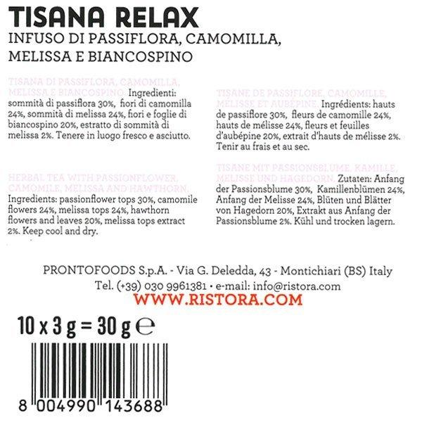 tisana relax
