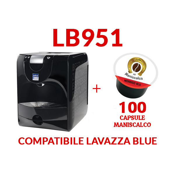 macchina caffè lavazza blue