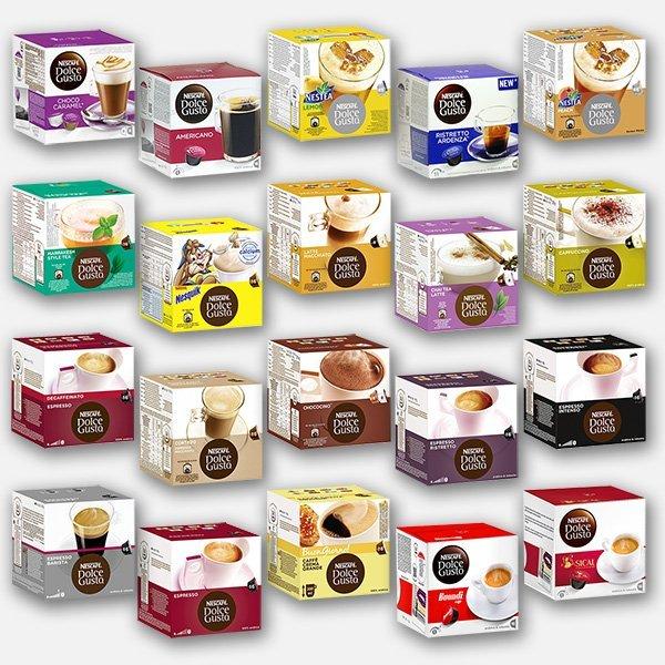 capsule caffè nespresso dolce gusto
