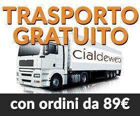 TRASPORTO GRATUITO SOPRA GLI 89€