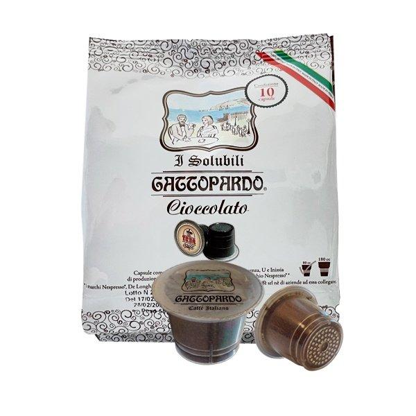 10 capsule Gattopardo Cioccolato compatibili Nespresso