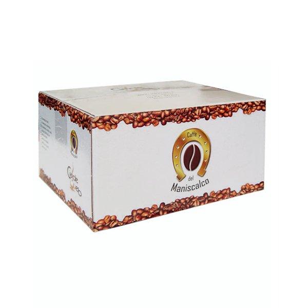 Box 50 capsule Caffè del Maniscalco Miscela Forte compatibile A Modo Mio