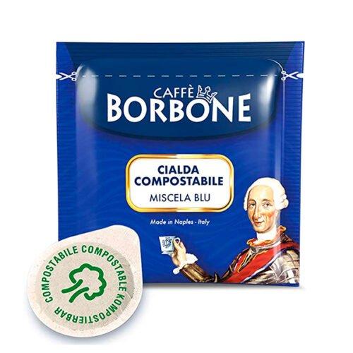 50 cialde compostabili Caffè Borbone Miscela Blu