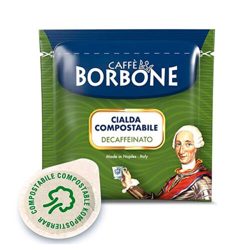 50 cialde compostabili Caffè Borbone Decaffeinato