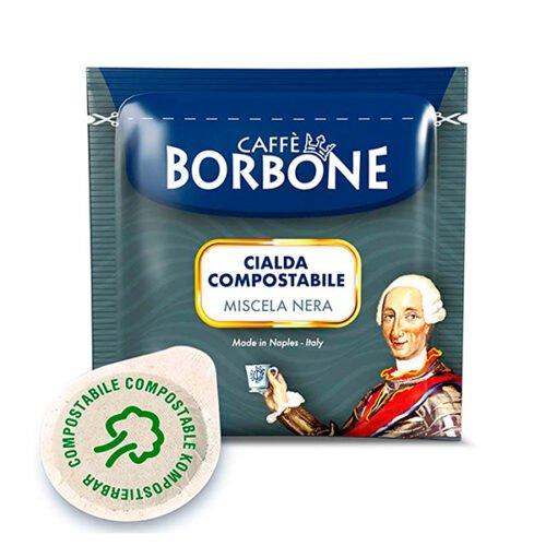 50 cialde compostabili Caffè Borbone miscela Nera