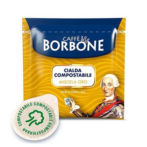 50 cialde compostabili Caffè Borbone Miscela Oro