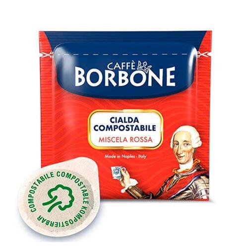 50 cialde compostabili Caffè Borbone Miscela Rossa