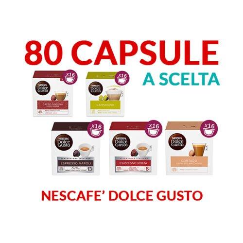 Capsule Nescafè Dolcegusto 5 confezioni a scelta trasporto gratuito