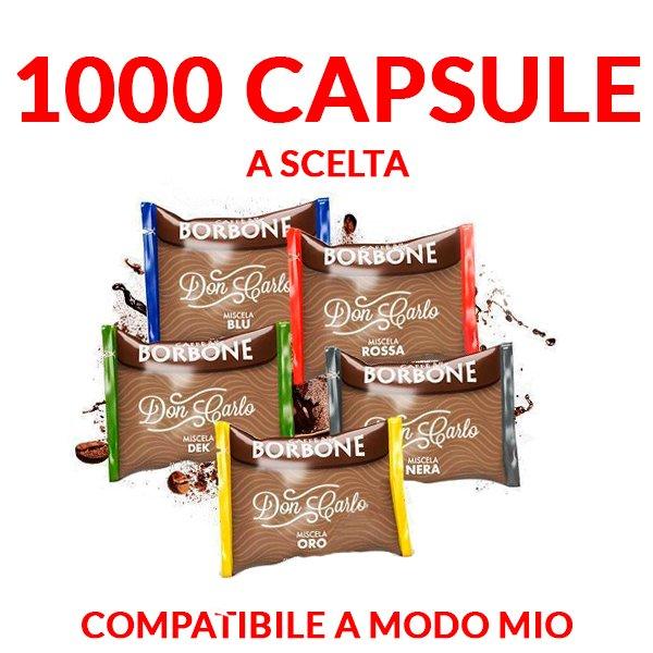 promozione borbone don carlo a modo mio 1000 capsule